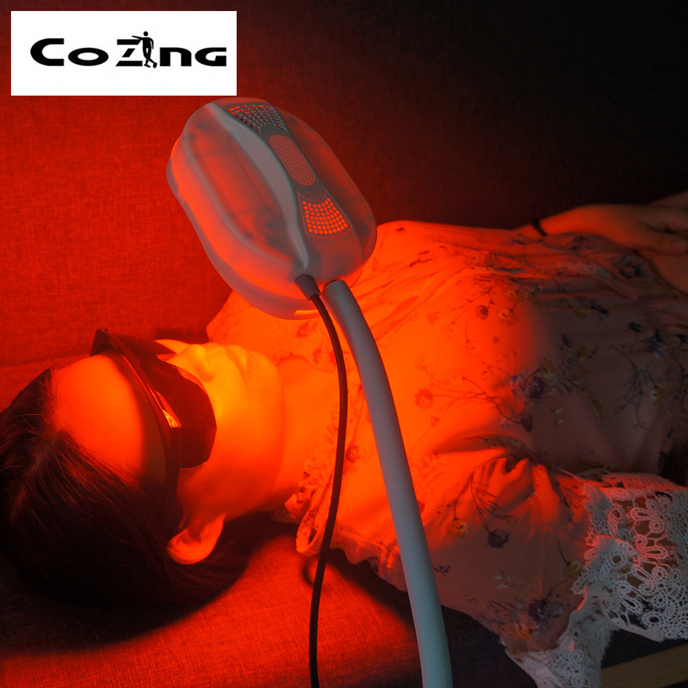 Ce Approved Red Blue Led Infrared Light Therapy Medical Skincare Beauty Pdt Machine