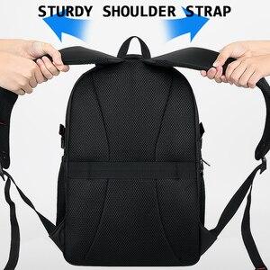 Image 5 - BALANG erkek rahat sırt çantaları su geçirmez 15.6 17 inç dizüstü sırt çantası USB büyük kapasiteli okul sırt çantası sırt çantası erkek 2020 yeni