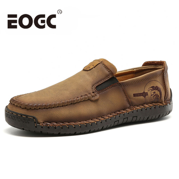 New Comfortable Genuine Leather shoes men Casual Shoes Loafers Men Shoes Quality Shoes Men Flats Moccasins Shoes winter men loafers new fashion men casual warm shoes comfortable men fur flats driving moccasins quality men loafers cotton