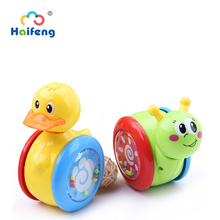 Baby Rattles Tumbler Doll Baby Toys Cute Nodding Doll Learning  Sweet Bell Music Roly-poly Education Toys Gifts Baby Toys Learn