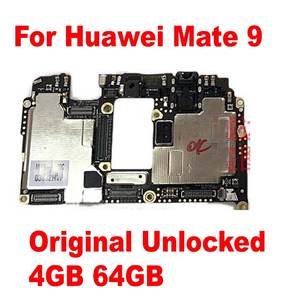 for HUAWEI Mate9 4GB 64GB Circuits-Board Card-Fee Flex Cbale-Parts Tested Original