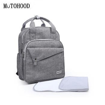 MOTOHOOD Mom Baby Diaper Bag Mommy Stroller Bags Large Capacity Nappy Bag Mommy Maternity Travel Backpack For Women Baby Bag