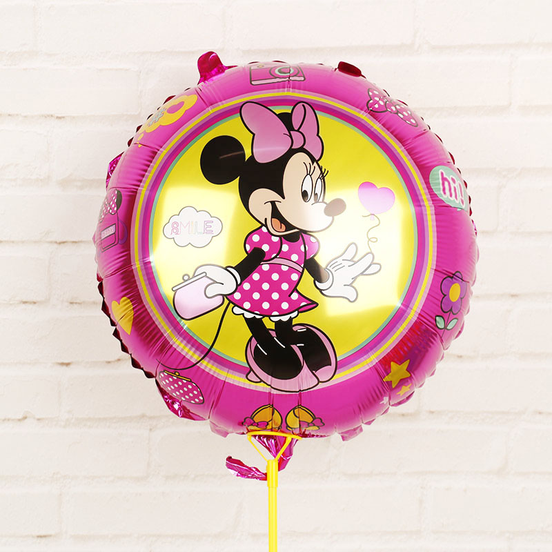 112cm Giant Mickey Minnie Mouse Cartoon Foil Balloon For Birthday Party 15
