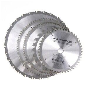 1 шт. диаметр 160 165 185 мм TCT дисковая пила для дерева пластик акрил деревообрабатывающий пильный диск 24T 48 60T 80T режущий диск