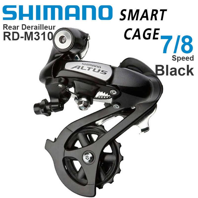 Shimano Altus RD-M310 M310 7//8 Speed MTB Rear Derailleur