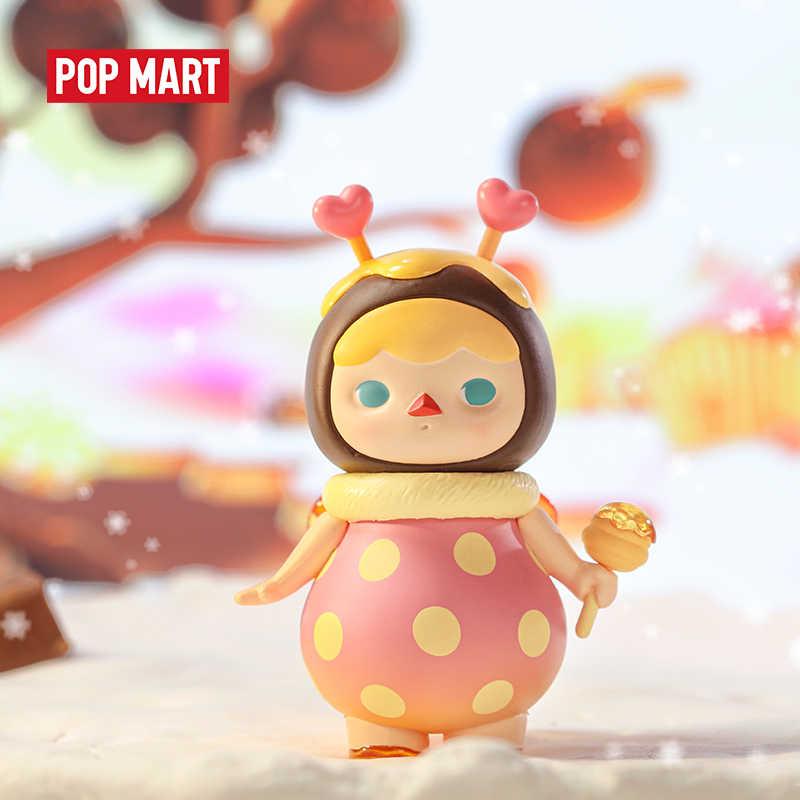 POP MART Pucky Bambini Dolci Cieco Scatola Collezione di Bambole Da Collezione Carino Action Kawaii Figura Giocattolo Del Regalo Del Capretto di Trasporto libero 3.28 vendita