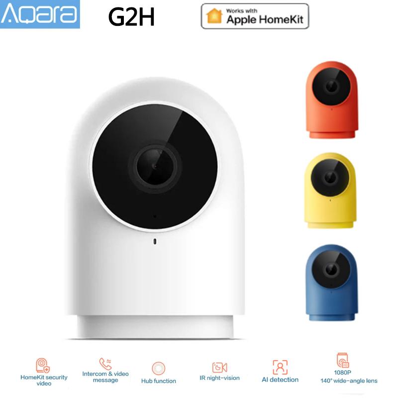 Aqara G2H Camera 1080P HD Night Vision Mobile For Apple HomeKit APP Monitoring G2H Zigbee Smart Home Security Camera US EU AU