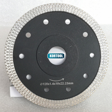 цена на Hot pressed sintered Mesh Turbo Diamond Saw blade Cutting Disc Diamond Wheel Bore 22.23MM or 20mm