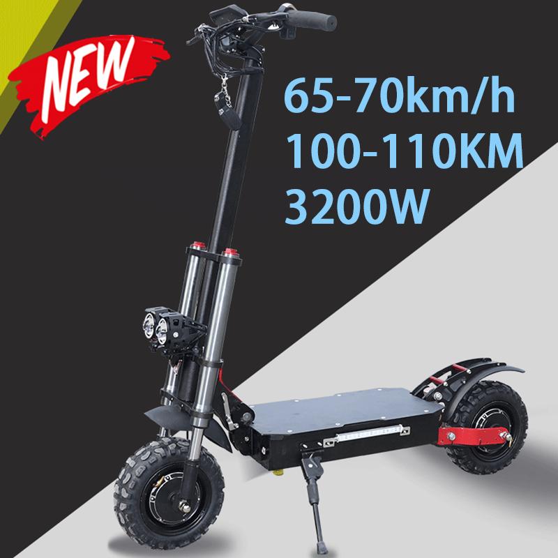 3200W Electric Skateboard E Scooter Electric Hulajnoga Trotinette Electrique Adulte Hulajnoga Elektryczna Monopattino Elettrico