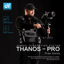 DF DIGITALFOTO THANOS PRO Gimbal Vest with Z Axis Spring Arm for DJI Ronin S Zhiyun Crane 2 Moza Air 2