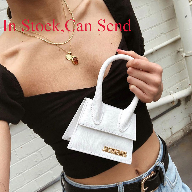 Designer Brand Luxury Women Bag Fashion Jacquemus Sac Crossbody Bags For Women 2020 High Quality Black Mini Purses and Handbags