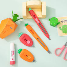 Милые фрукты Мини Портативный нож ремесло упаковочная коробка