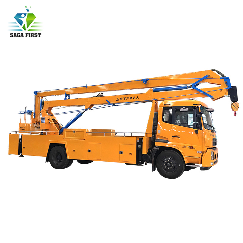 14m 4X4 Left Hand Drive Aerial Working Truck