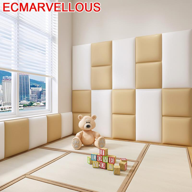 Children Bedroom Anti-collision Chambre A Coucher Child 3D Wall Sticker Cabecero Cama Cabeceira Tete De Lit Bed Headboard