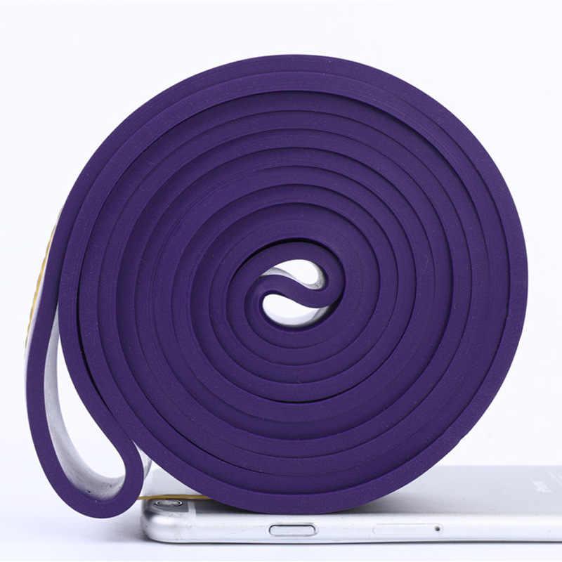 Różnorodność siłownia gumowe zespoły oporu pasek do jogi Pętla elastyczna Crossfit Pilates Fitness Expander Pull up wytrzymałość Unisex sprzęt do ćwiczeń