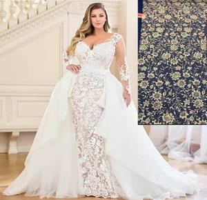 Image 2 - Eslieb high quality lace plus size wedding dresses Wedding dress 2020