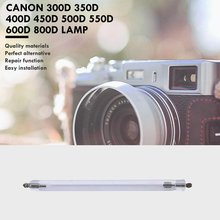 цена на Camera Flash Ligt Tube For Canon 300D 350D 400D 450D 500D 550D 600D 800D Camera Light Tube Replacement
