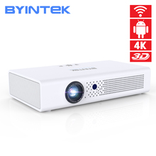 BYINTEK Brand UFO R19 300inch 3D Smart Android WIFI Video LED Portable Mini HD DLP Projector for Full HD 1080P HDMI 4K Iphone 11 6pcs 32pin 40 pin a