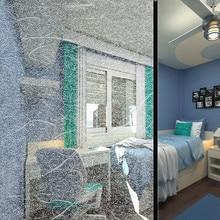 Украшение из белого матового материала, наклейка на окно, пленка на Защитное стекло для домашнего офиса, антиуф, термоконтроль, стеклянная наклейка