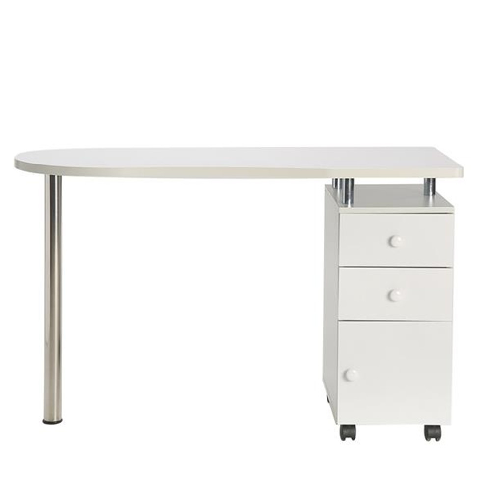 Manicure Workstation Profession Nail Salon Technician Desk Hand-care Table White  For Nail Salon Or Spa House