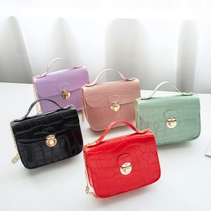Women Bags Small Mini Crossbody Bag Handbags Classic Crocodile Pattern Shoulder Bag Chain Strap Messenger Fashion Purse 2020