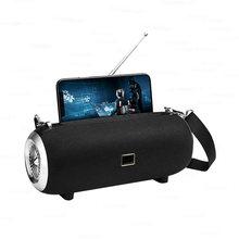Haut-parleur Bluetooth haute puissance 40W enceinte sans fil colonne extérieure Portable TWS Subwoofer Sport barre de son avec support pour téléphone
