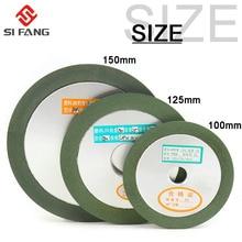 Алмазный шлифовальный круг, шлифовальный круг 125x32x15 мм для вольфрамовой стали, Фрезерный резак, инструмент, точилка, шлифовальный станок, 1 ш...