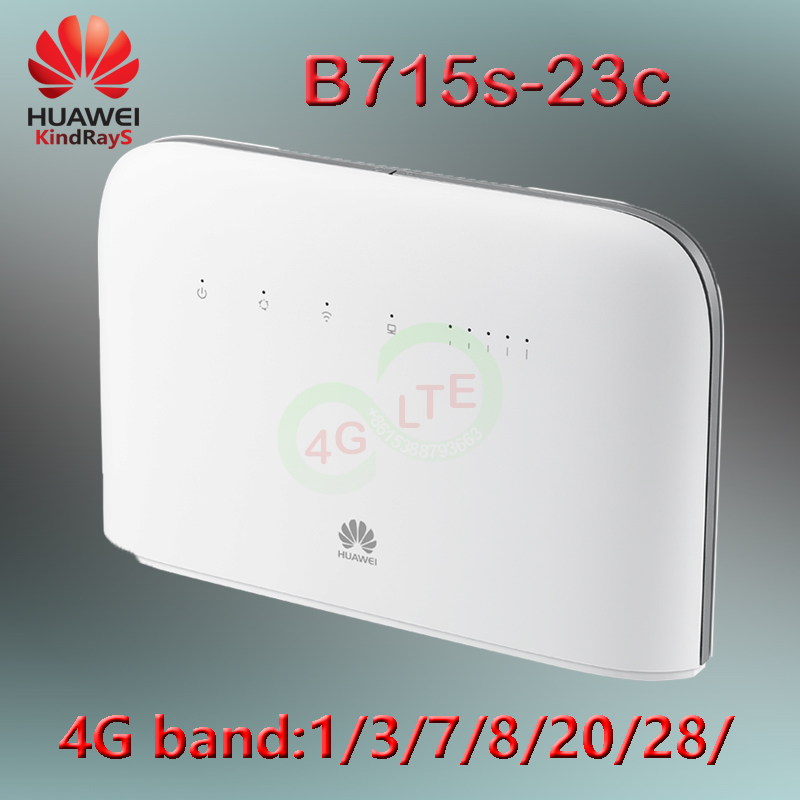 Unlocked Huawei B715 4g 450mbps B715s-23c LTE 4g Portable Hotspot Wifi Router Usb Modem 4g Wifi Router Huawei With Antenna