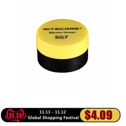 1 peça melhor preço venda quente nitecore sg7 silicone graxa lanterna (5g)