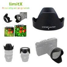 Flower Lens Hood for Fujifilm X T30 X T20 X T10 X T3 X T2 X T1 X E3 X E2 X E1 with 18 55mm lens / FUJINON LENS XF 14mm F2.8 R