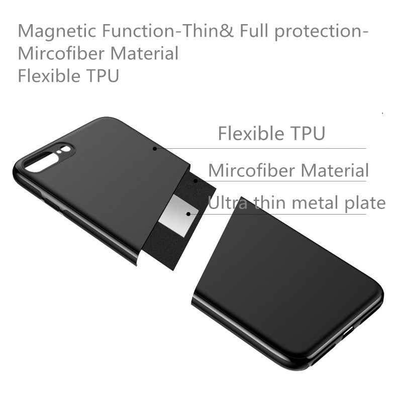 Magnetic Car Holder Case For iPhone Xs Max Xr X 8 7 6 Plus 11 Pro Soft Silicone Magnet Cover for Samsung Galaxy S10 Huawei P30 Iphone Accessories
