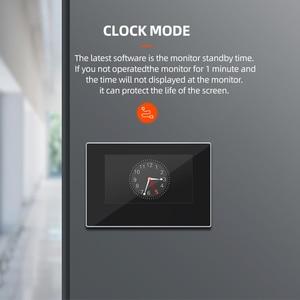 Image 2 - JeaTone 7 inch WIFI IP Video Door Phone Intercom Kit Door Bell Door Speaker Access Control System Touch Screen Motion Detection