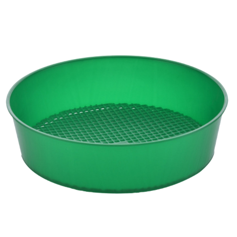 Plastic Garden Sieve Riddle Green For Compost Soil Stone Mesh Soil Sieve Filtration Large Stones And Twig From Soil Garden Tool