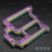 HSP 102065 122065 Aluminium Aolly Metall Compact Radio Tray 02069 1/10 Upgrade Teile Für 94122 94155 94166 94177 94188