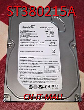"""Seagate BarraCuda 7200.10 ST380215A 80GB 7200 obr./min 2MB pamięci podręcznej IDE Ultra ATA100 / ATA-6 3.5 """"wewnętrzny dysk twardy"""