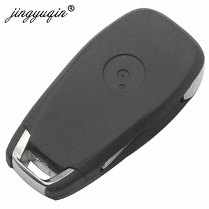 Image 3 - Jingyuqin 5 adet modifiye 2 düğme uzaktan akıllı anahtar Fob için Chevrolet Cruze 2014 2018 433 MHZ ID46 PCF7941 çip anahtar kontrol