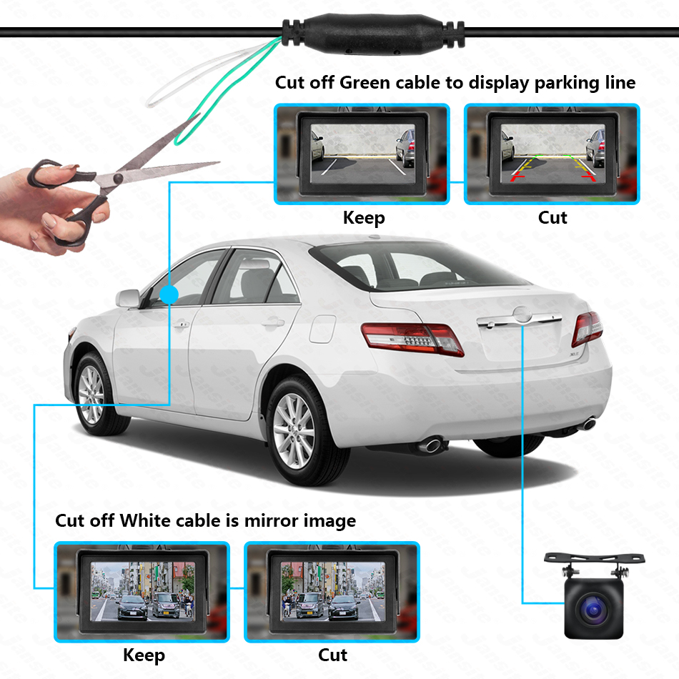 cheapest 175 Degree HD Backup Reverse Rear View Camera For Nissan X-Trail XTrail 2001 2002 2003 2004 2005 2006 T30 Car Parking Monitor