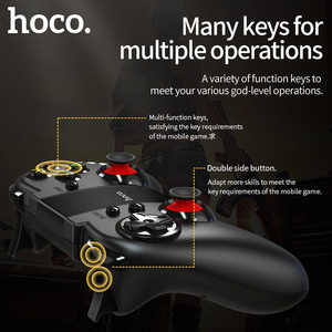 Image 3 - HOCO Gamepad אלחוטי Bluetooth ג ויסטיק עבור PS4 בקר אלחוטי קונסולת עבור iPhone אנדרואיד משחק Pad Joypad משחקי Accessorie