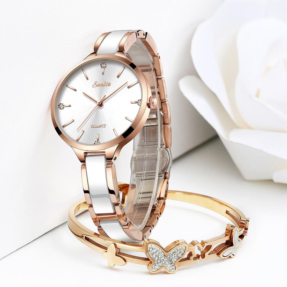 simples diamante relógio de moda casual esporte