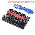 Biqué BIGTREETECH SKR E3 DIP V1.1 Placa de Control de 32 bits con TMC2208 UART TMC2130 SPI controlador para Ender 3/5 Pro 3D piezas de impresora