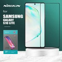 삼성 갤럭시 S10 라이트 유리 Nillkin CP + 프로 강화 유리 HD 전체 커버 삼성 S10 라이트에 대한 보호 화면 보호기