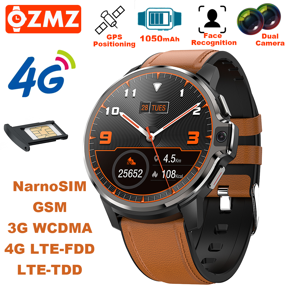 Permalink to DM30 Smart Watch 4GB 64GB Android 9.1 GPS WiFi Dual 5MP Camera Face ID 1050mAh 1.6in Touch Screen Fitness IP67 Smartwatch