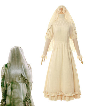 Halloween Women Costume The Curse of La Llorona Cosplay Horror Film Costume The Curse of the Weeping Woman Cosplay фото