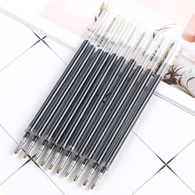 10Pcs Crystal Neutral Pen Core Writing Smooth Press Insert Carbon Diamond Replacement ZXBBX06