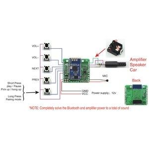 Image 3 - CSR8645 APT X HIFI 블루투스 4.0 12V 수신기 보드 자동차 앰프 스피커