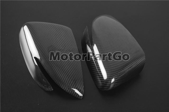 Real Crabon Fiber Mirror Cover 1 pair for  Kia K3 with turn signal 2014-2017 T252M 6