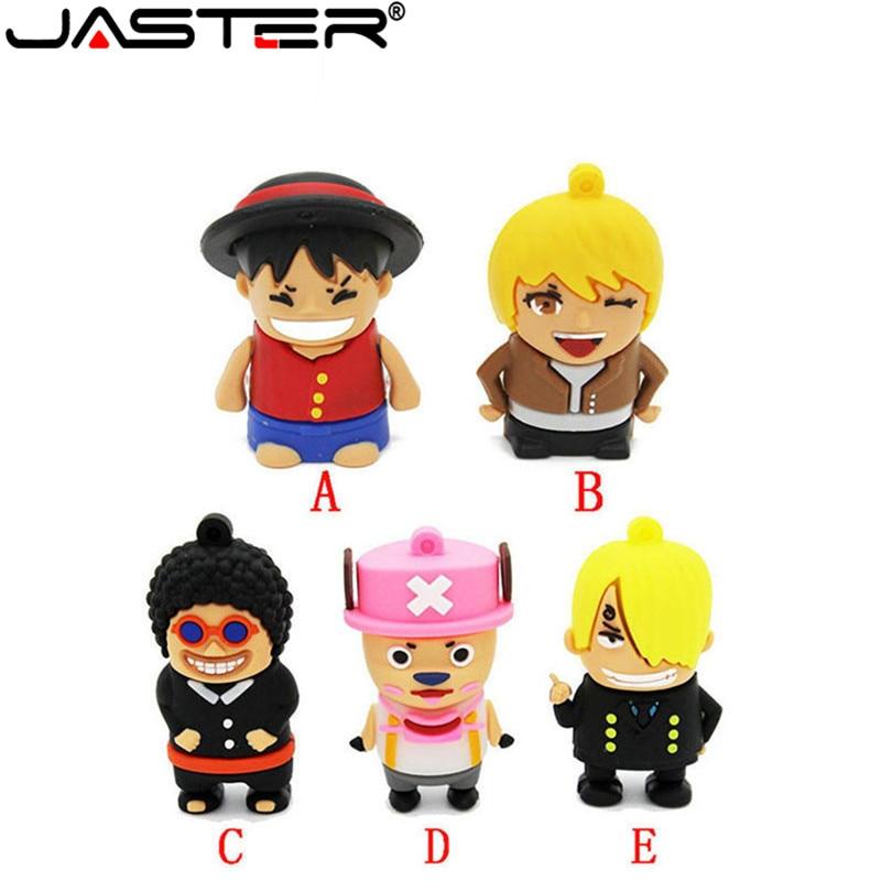 JASTER, хит продаж, модный креативный USB 2,0, 64 ГБ, 32 ГБ, 16 ГБ, 8 ГБ, 4 Гб, Мультипликация, настоящая емкость, морская серия, USB флеш-накопитель
