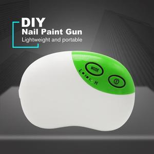 Portable Oxygen Inject Machine Spray Gun Airbrush Compressor Set Mini Pump Pen Art Painting Tattoo Craft DIY Nail Paint Gun