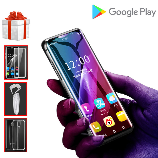 Mini 4G Smartphones android 6.0 K TOUCH I10S 16GB/32GB/64GB ROM WIFI Google Play Smallest Student Face ID Android Mobile Phones