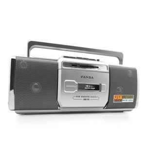 Image 3 - PANDA 6610 registratore a nastro Radio piccolo nastro a doppio altoparlante impara la riproduzione inglese Radio a due bande